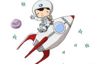ребенок-в-космическом-костюме-и-я-в-космос-92490416